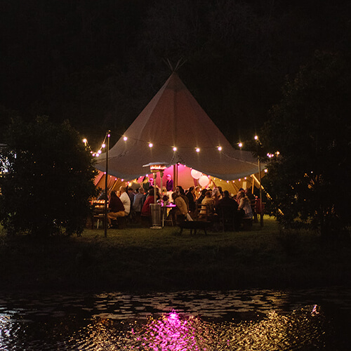 affordable tipi wedding package options
